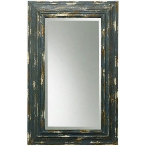 Weathered Wooden Frame Mirror - Accessories by StyleCraft - Wilcox ...