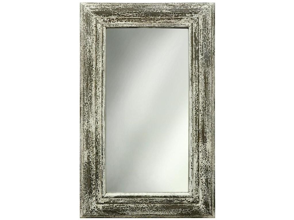 StyleCraft AccessoriesWhite Weathered Mirror