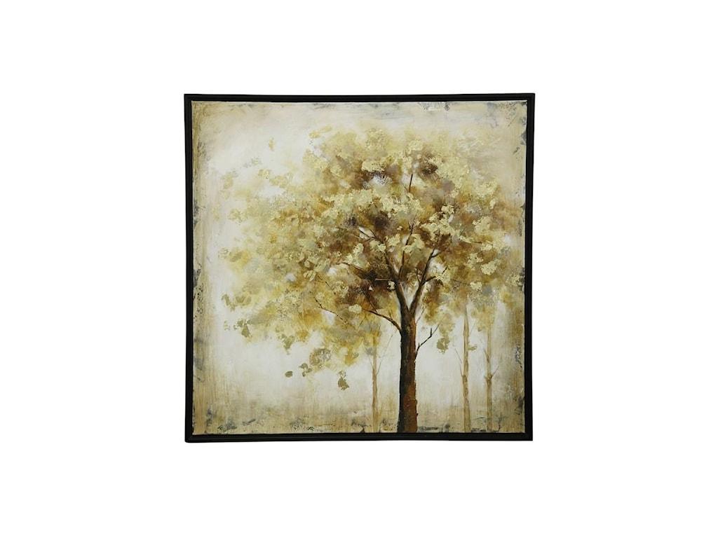 StyleCraft AccessoriesPainted Tree Canvas
