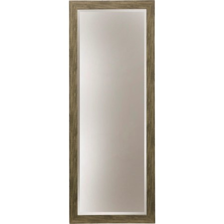 GREY GRAIN WALL MIRROR