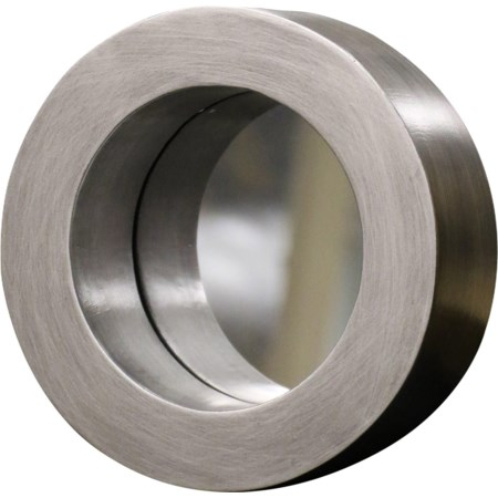 Silver Port Hole Mirror