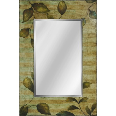 Hand Painted Foil Wall Mirror