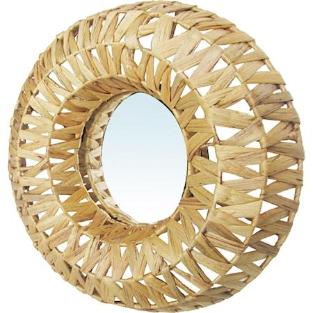 Framed Circle Mirror