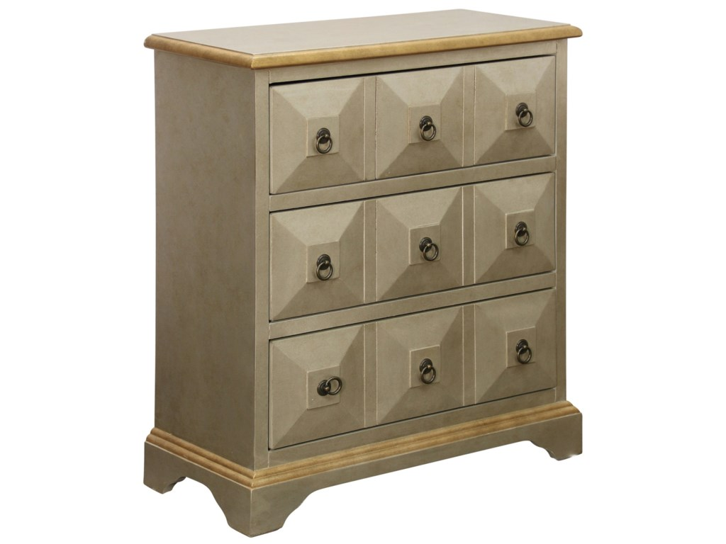 Stylecraft occasional cabinets3 drawer chest
