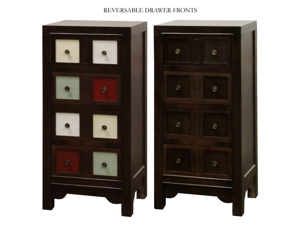 StyleCraft Occasional CabinetsAccent Chest with Reversible Drawer Fronts