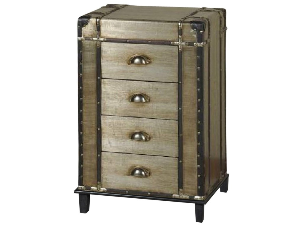 Stylecraft cabinets - Stylecraft Occasional Cabinets Four Drawer Chest Hudson S Furniture Accent Chests