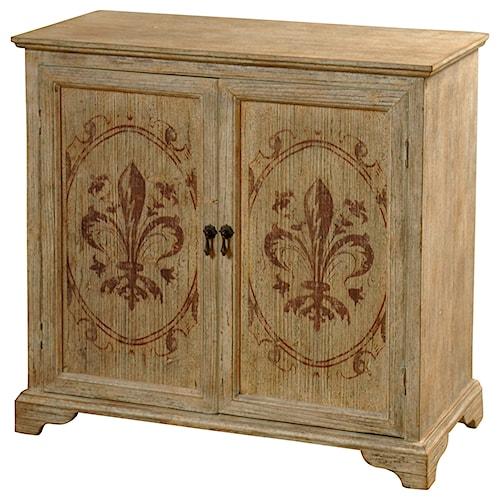 StyleCraft Occasional Cabinets Solid Fir Wood 2 Door Cabinet
