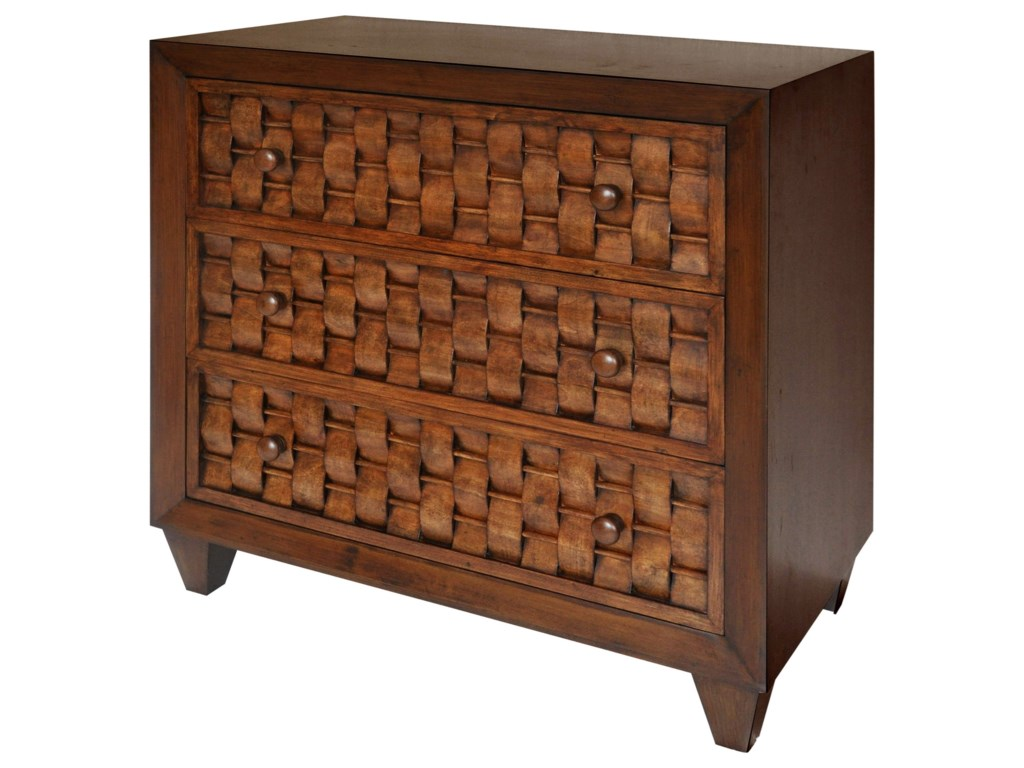 StyleCraft Occasional Cabinets3 Drawer Cabinet