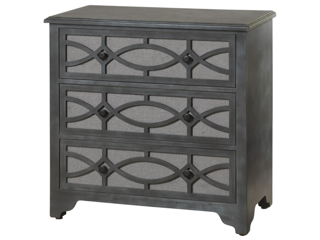 StyleCraft Occasional Cabinets3 Drawer Wooden Chest