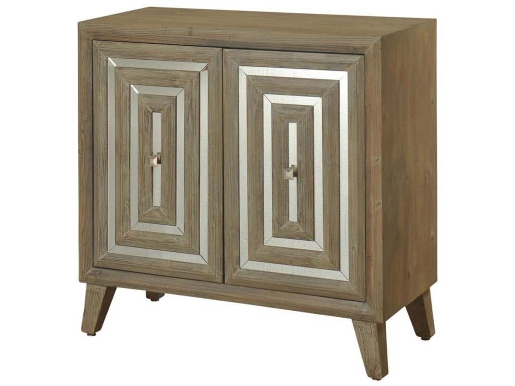 StyleCraft Occasional Cabinets2 Door Mirrored Cabinet