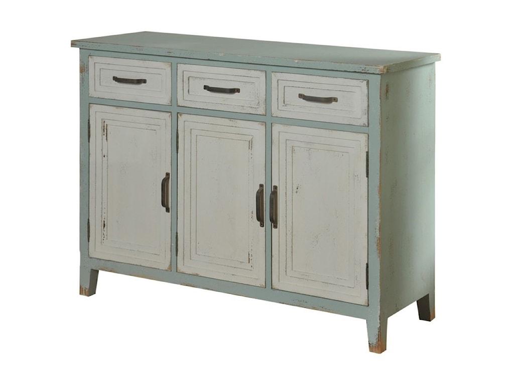 StyleCraft Occasional Cabinets3 Drawer 3 Door Credenza