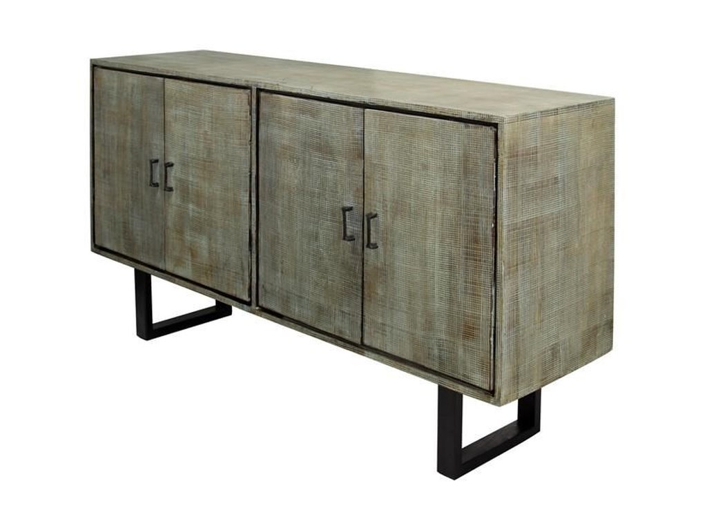 Occasional cabinets gray textured mango wood sideboard ruby gordon home sofa tables consoles