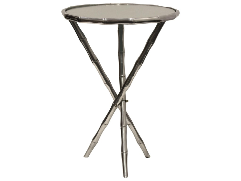 stylecraft occasional tables afi1026 round metal accent table