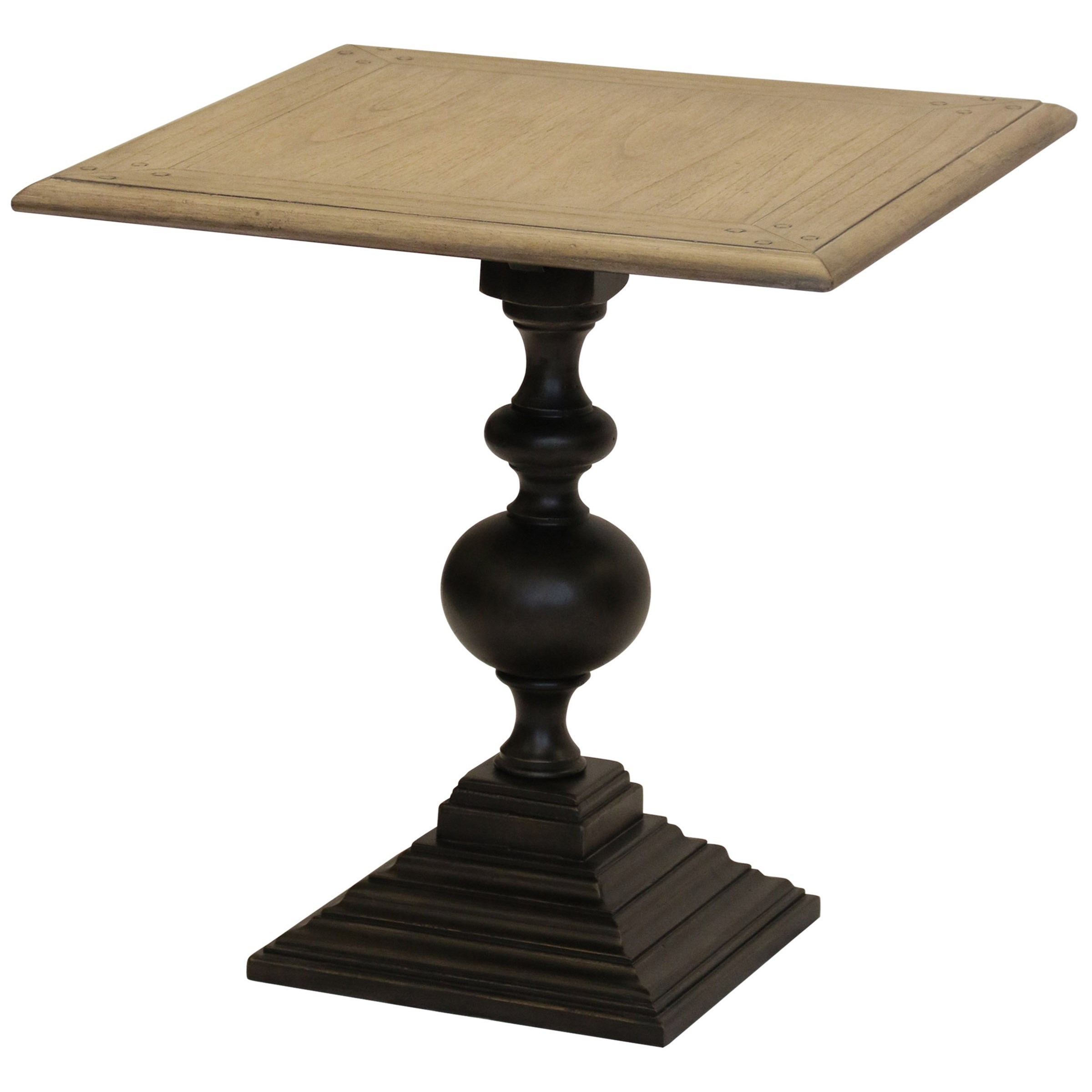StyleCraft Occasional TablesSquare Pedestal Accent Table ...
