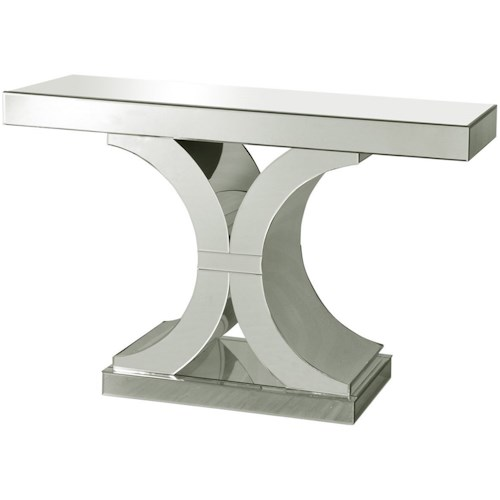 stylecraft occasional tables chanel clear glass console table
