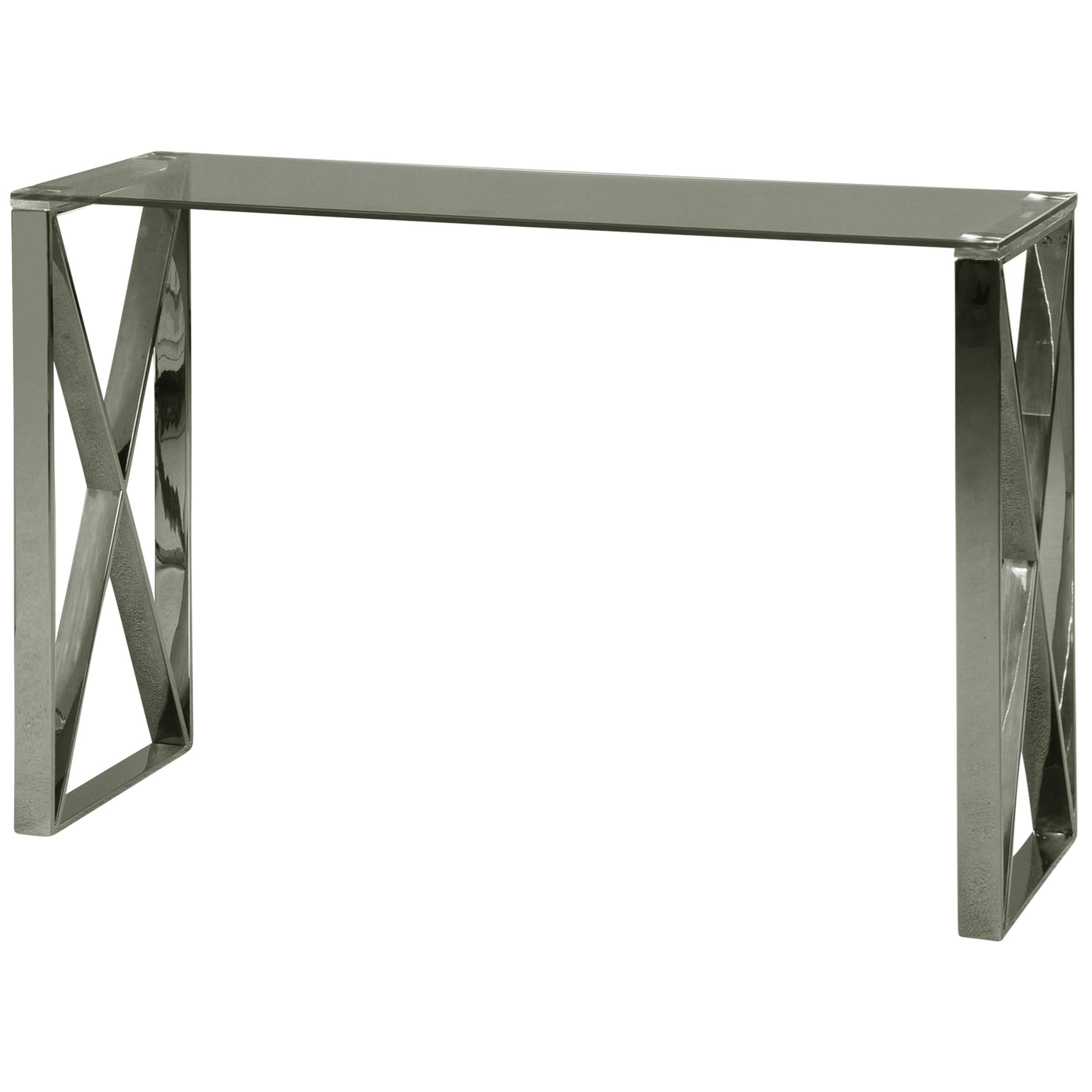 Occasional Tables Stainless Steel Console Table
