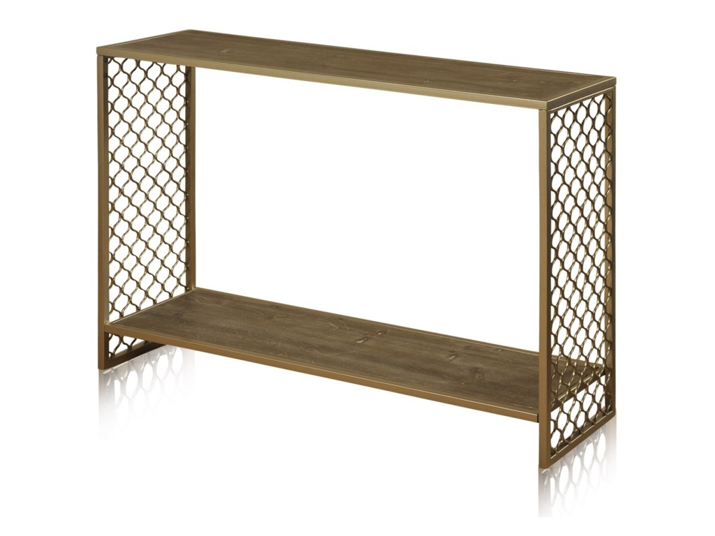 promo code 150bc a3b1e Occasional Tables Wrought Iron Console Table by StyleCraft at Del Sol  Furniture