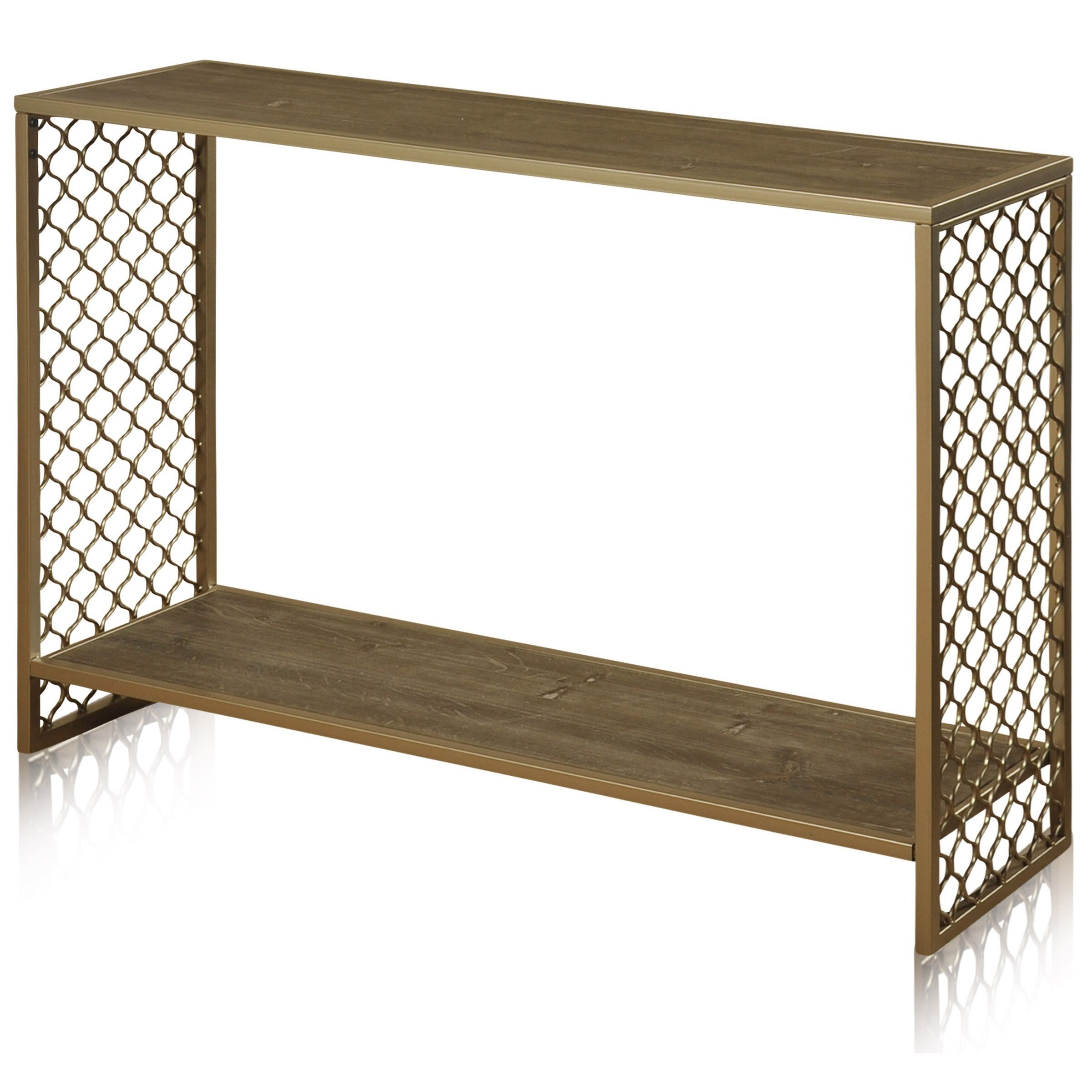 StyleCraft Occasional TablesWrought Iron Console Table