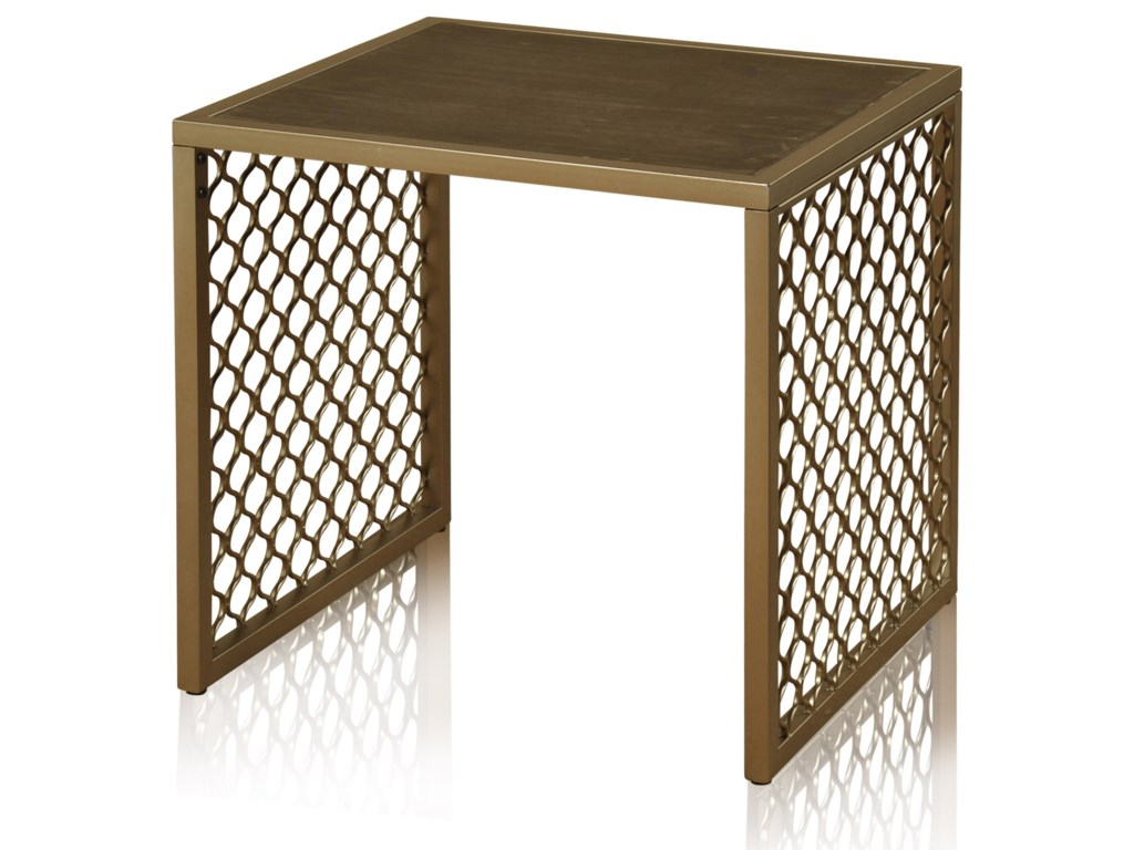 StyleCraft Occasional TablesWrought Iron Side Table
