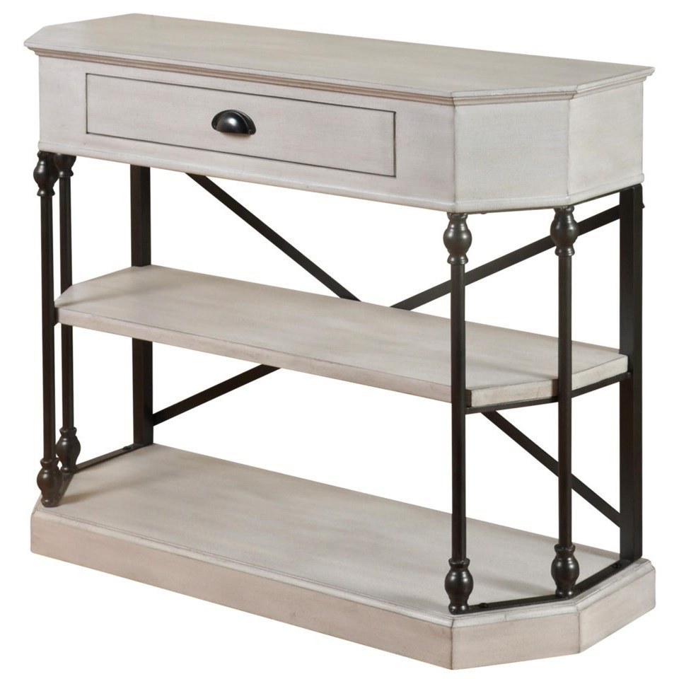 StyleCraft Occasional TablesClipped Corner Console Table