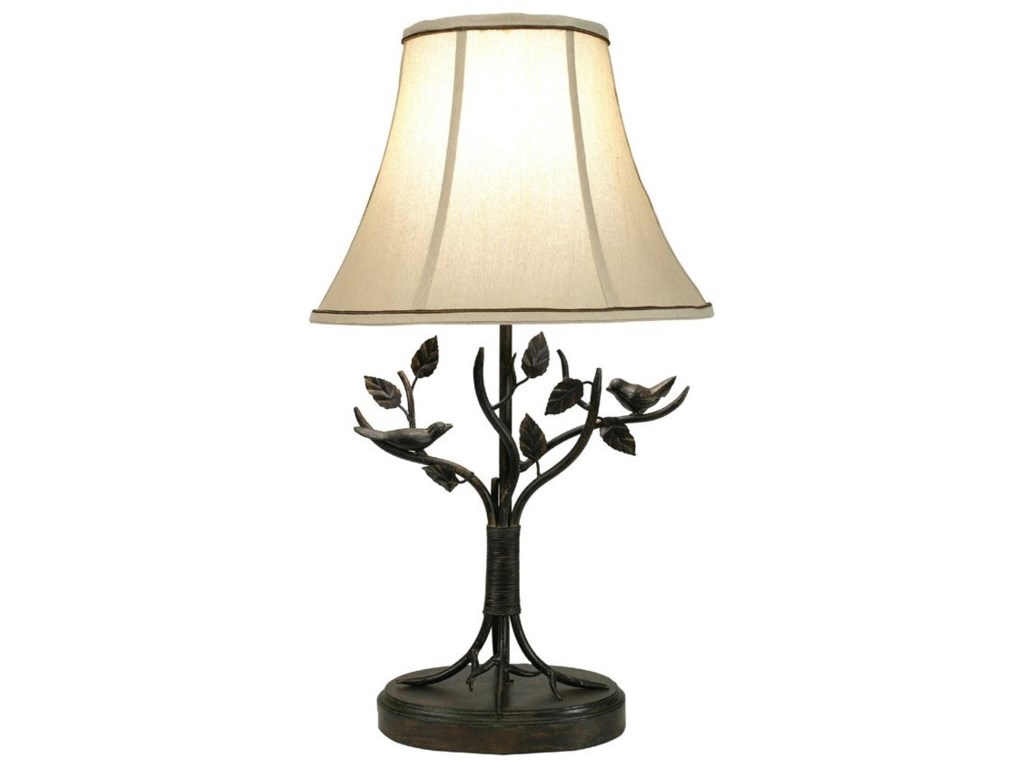 Stylecraft lamps bp8168ds aged bronze iron bird and leaf table lamp stylecraft lampsiron bird and leaf table lamp aloadofball Image collections