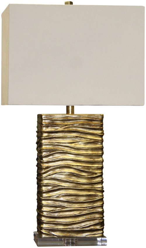 Stylecraft lamps jane seymour a clear base supports this creative stylecraft lamps jane seymour a clear base supports this creative table lamp aloadofball Images