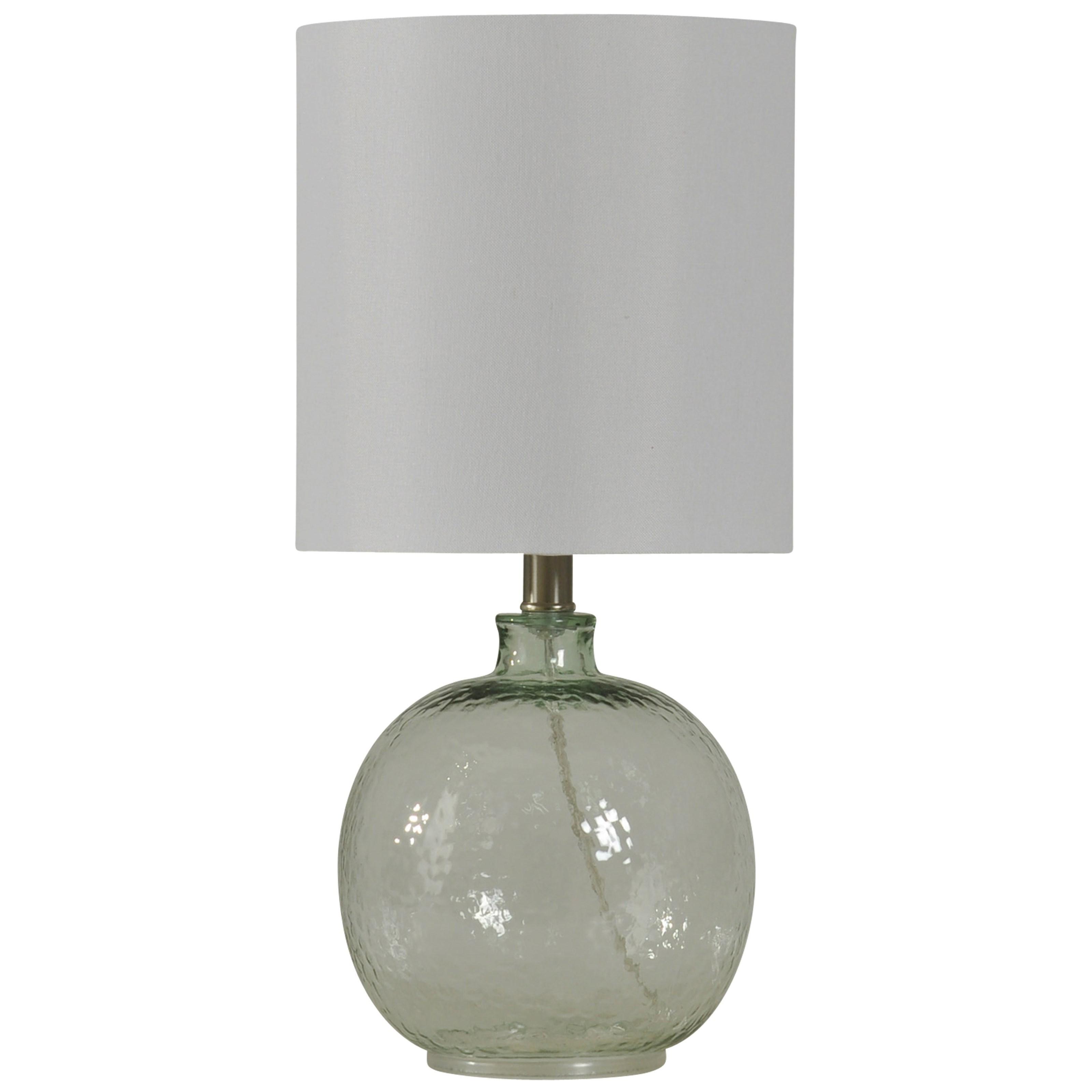 Marvelous Lamps Mini Spanish Glass Ball Lamp By StyleCraft
