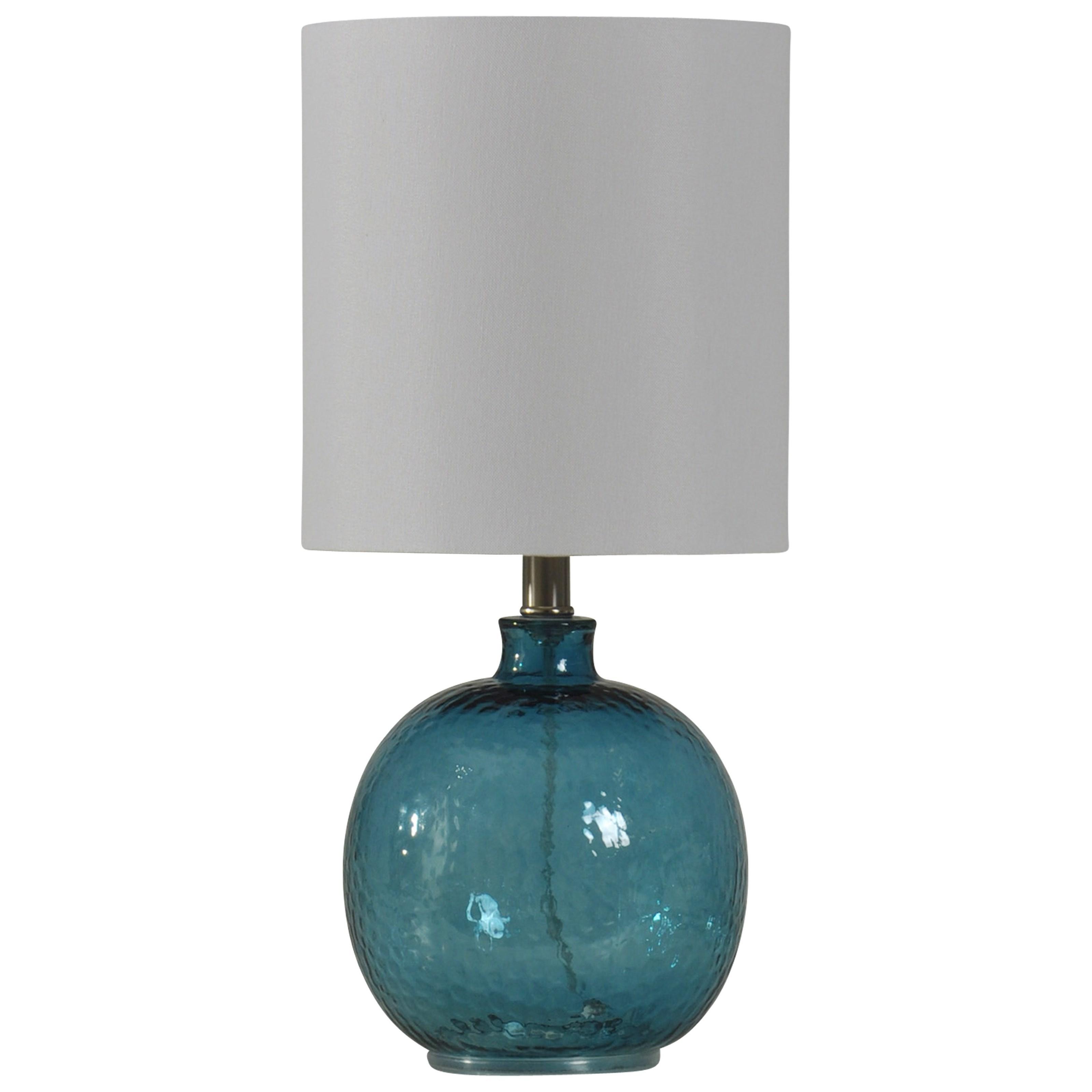 Mini Spanish Glass Ball Lamp