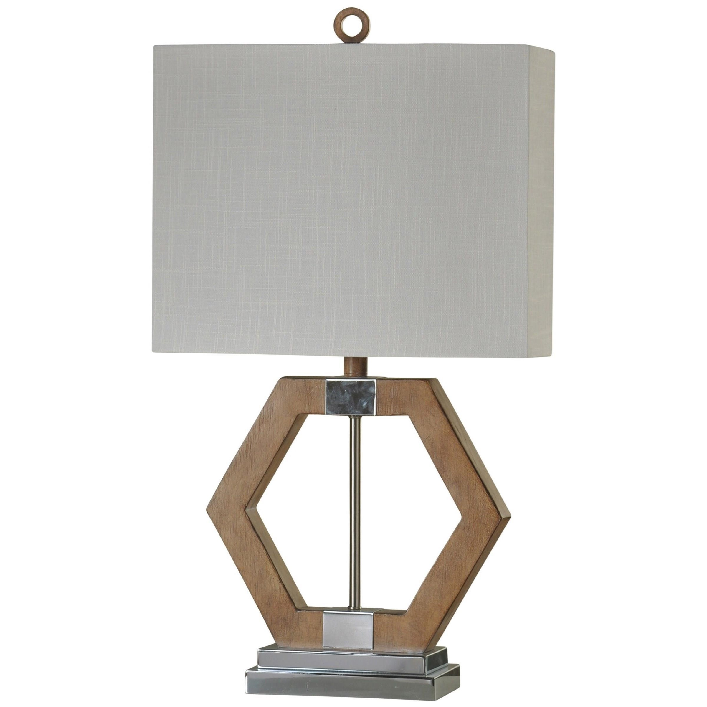 StyleCraft Lamps Geometric Table Lamp