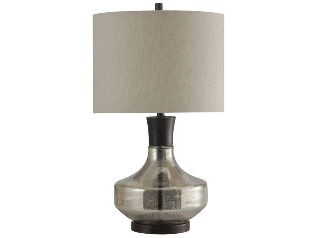 Stylecraft lamps mercury glass metal table lamp hudsons stylecraft lamps mercury glass metal table lamp hudsons furniture table lamps geotapseo Image collections