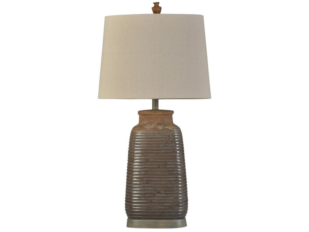 Stylecraft lamps l315953 armond brown ceramic lamp hudsons stylecraft lampsarmond brown ceramic lamp aloadofball Choice Image