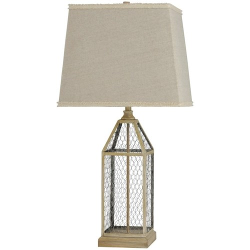 StyleCraft Lamps Chicken Wire Table Lamp | Aladdin Home Store ...