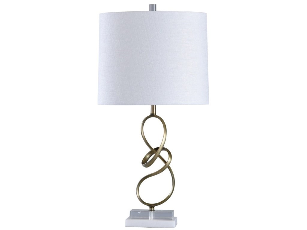 StyleCraft LampsMARBLE/CRYSTAL TABLE LAMP