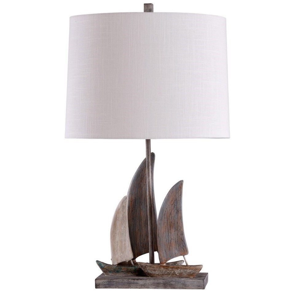 Stylecraft Lamps Boat Table Lamp Westrich Furniture Appliances
