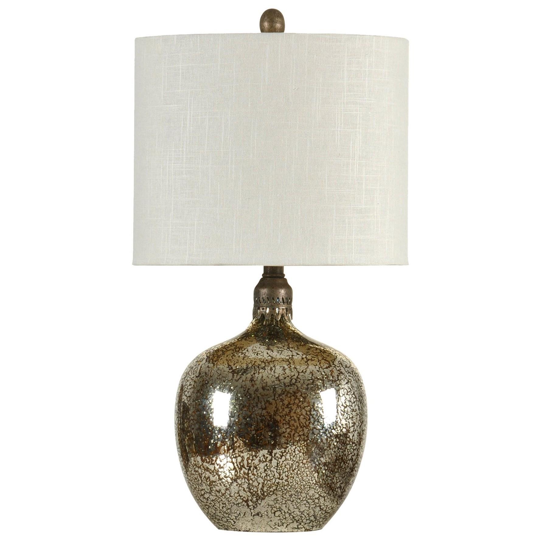 StyleCraft LampsAntiqued Mirror Base Table Lamp
