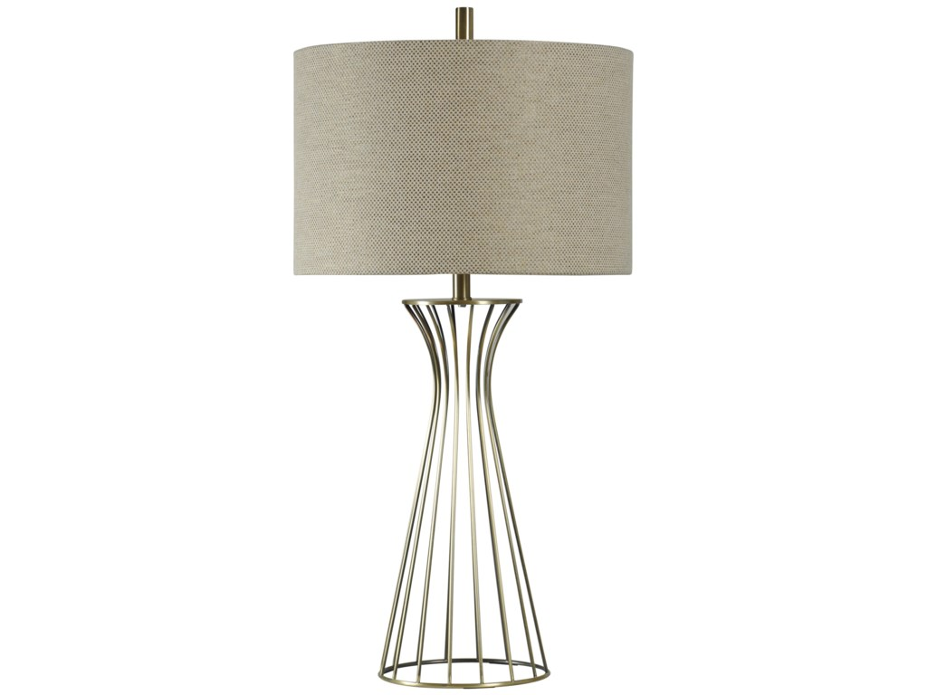Stylecraft lamps l37166 classic formed metal table lamp household lamps classic formed metal table lamp by stylecraft aloadofball Images