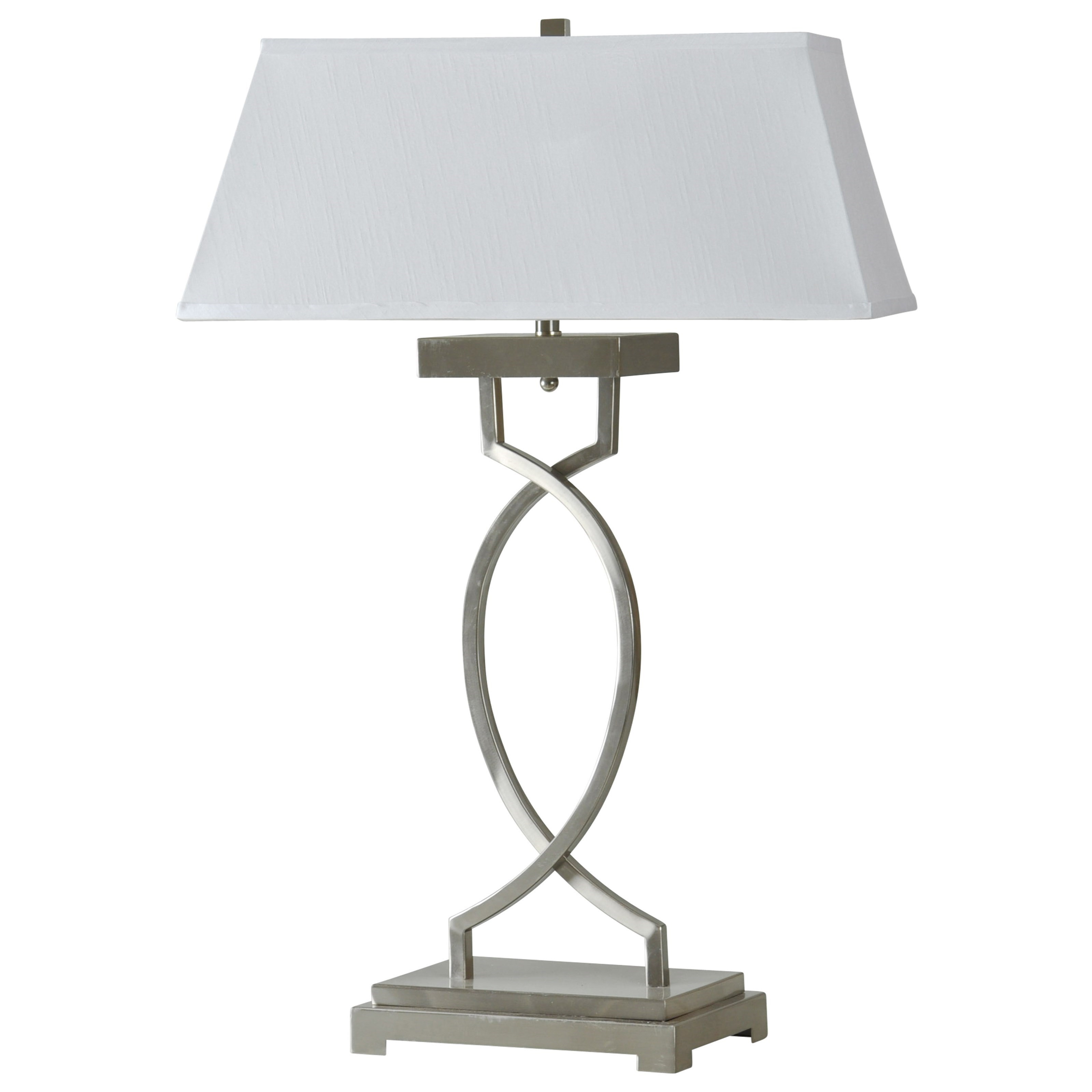 StyleCraft Lamps Brushed Steel Transitional Lamp