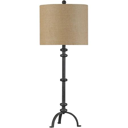 Traditional Cast Iron Buffet Lamp