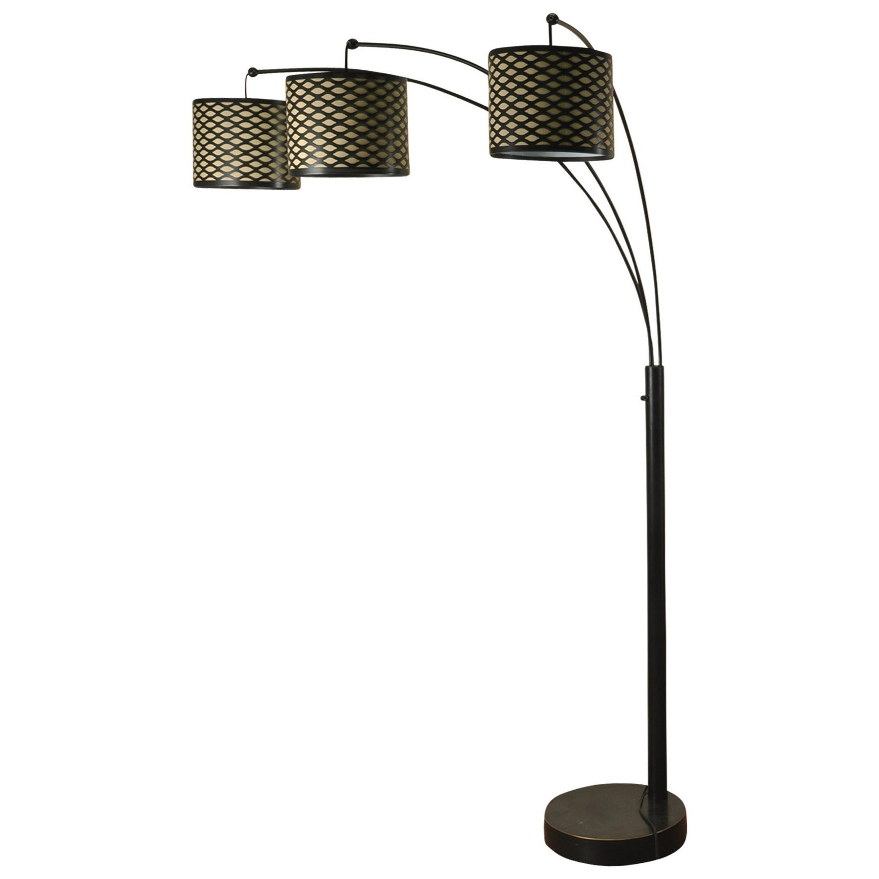 Lamps Madison Bronze Three Arm Arch Floor Lamp. Lamps Collection