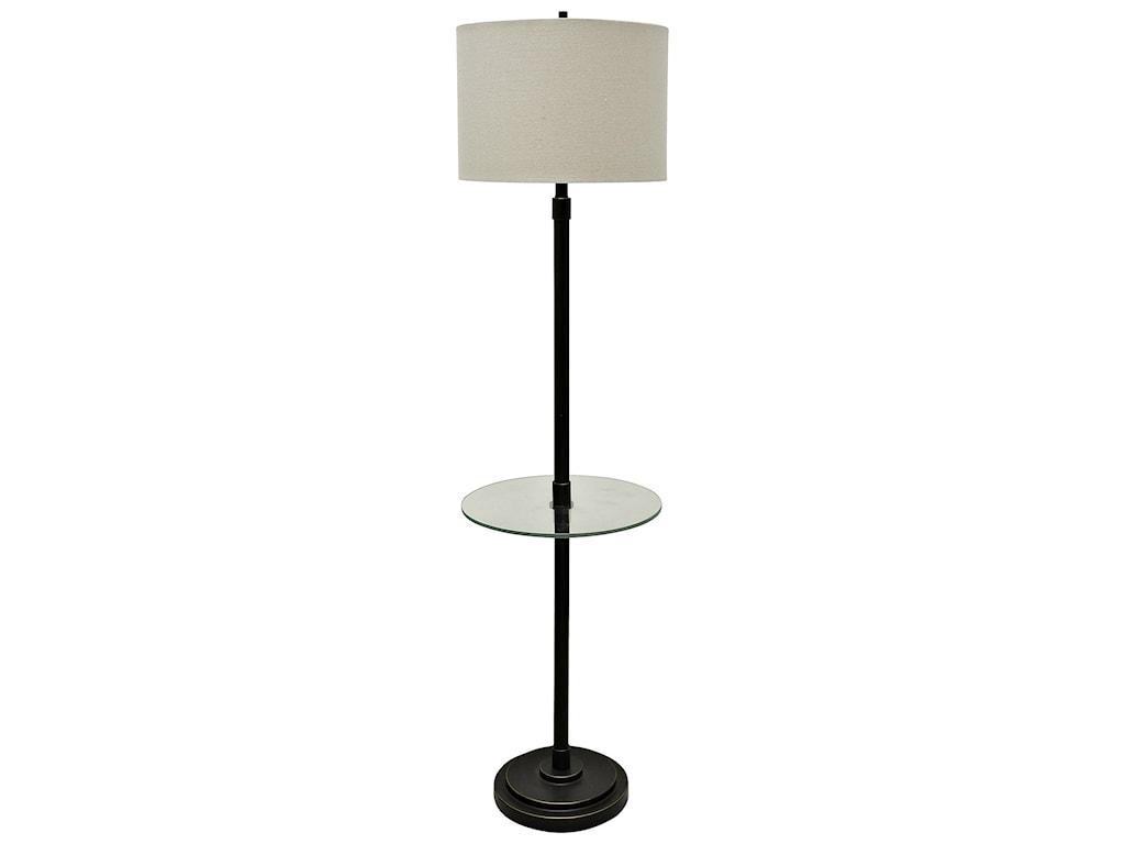 stylecraft lamps madison bronze finish steel table floor lamp