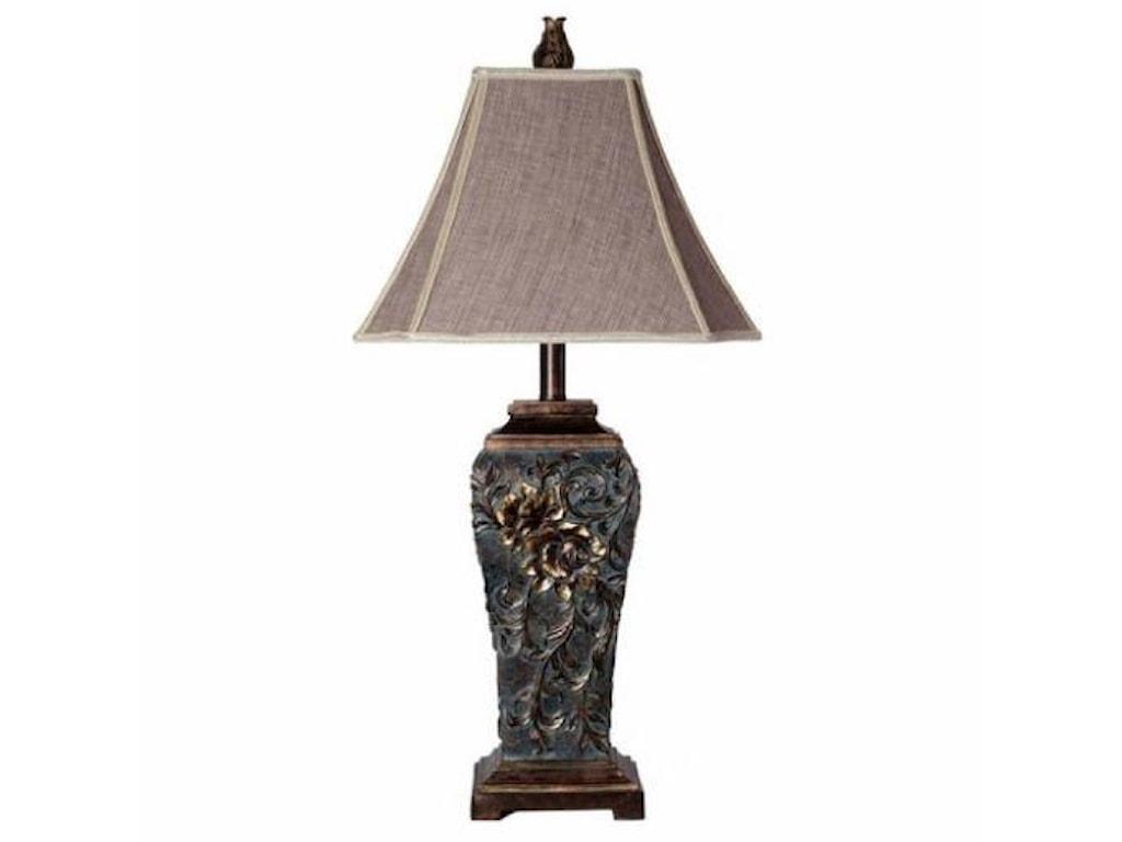 StyleCraft LampsVine Carved Lamp