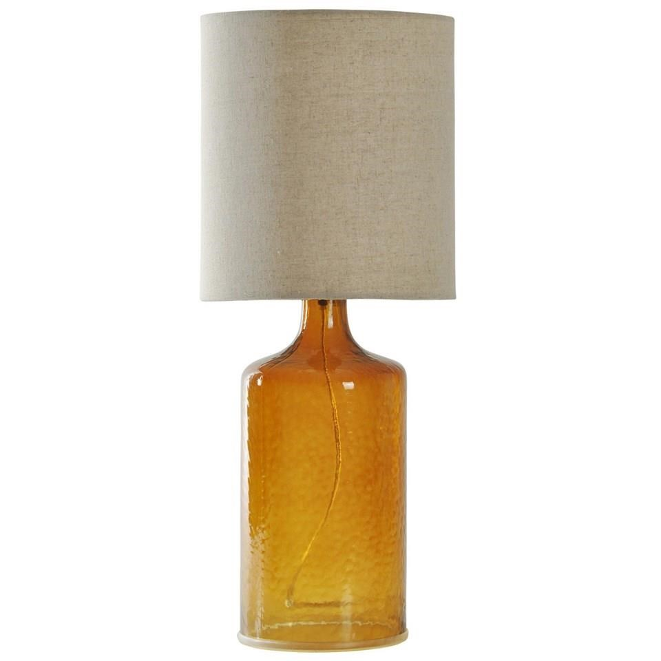 Lamps Seeded Glass Table Lamp By StyleCraft