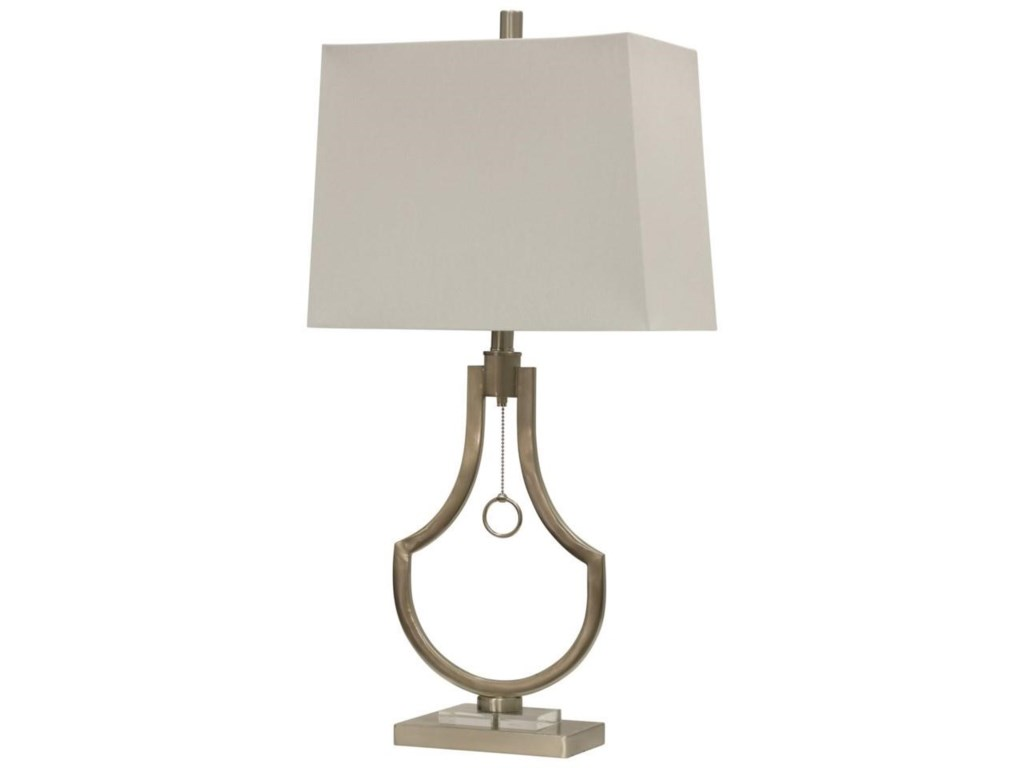 Stylecraft lamps l314119 brushed steel table lamp dunk bright lamps brushed steel table lamp by stylecraft aloadofball Images