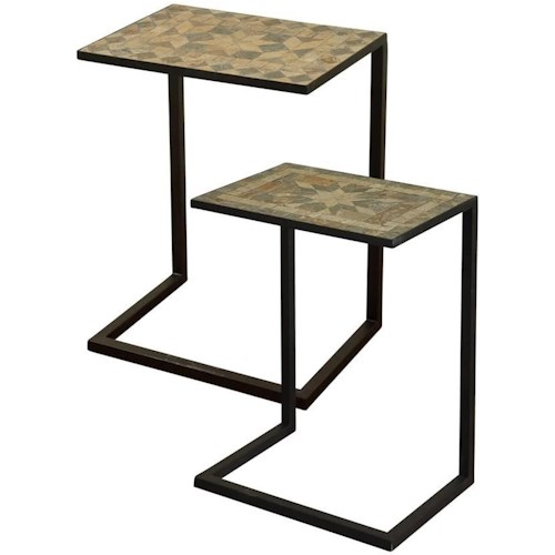 stylecraft tables accent table set boulevard home furnishings