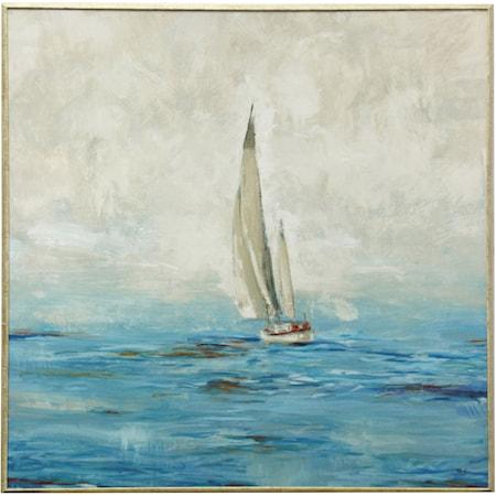Sailboat Framed Wall Art