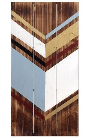 StyleCraft Wall Décor WI52347 Reclaimed Painted Wood Wall Art with ...