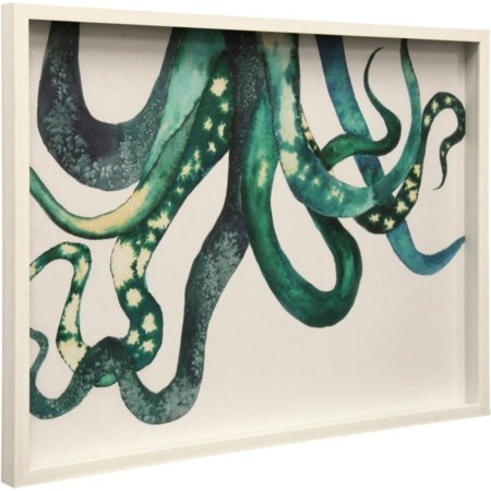 Octopus | Framed Print Under Glass