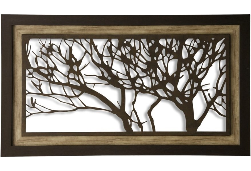 Stylecraft Wall Décor Metal Laser Cut Tree Art Wil