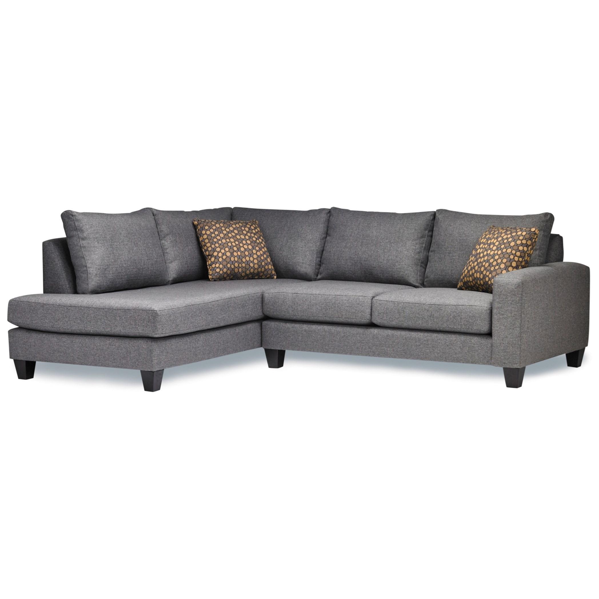 7711 2 Pc Sectional Sofa