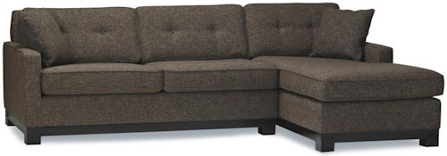 Stylus 8181 Sectional Sofa w/ Chaise